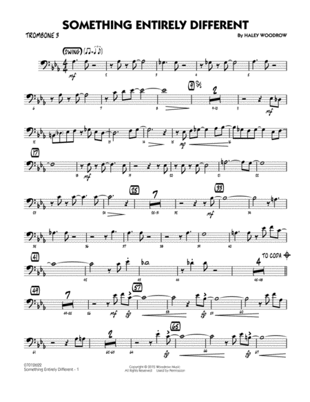 Something Entirely Different - Trombone 3