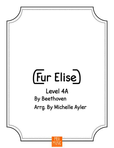 Fur Elise - Level 4A