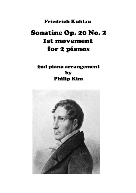 F. Kuhlau Sonatine Op. 20 No. 2 First Movements for 2 Pianos