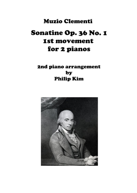 Muzio Clementi Sonatine Op. 36 No. 1 First Movement for 2 Pianos