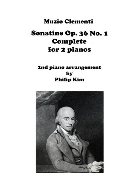 Muzio Clementi Sonatine Op. 36 No. 1 Complete for 2 Pianos
