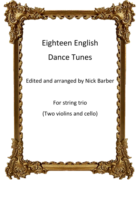 Eighteen English Dance Tunes