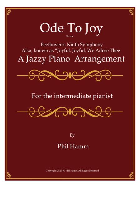 Jazzy-Ode to Joy (Joyful, Joyful, We Adore Thee)