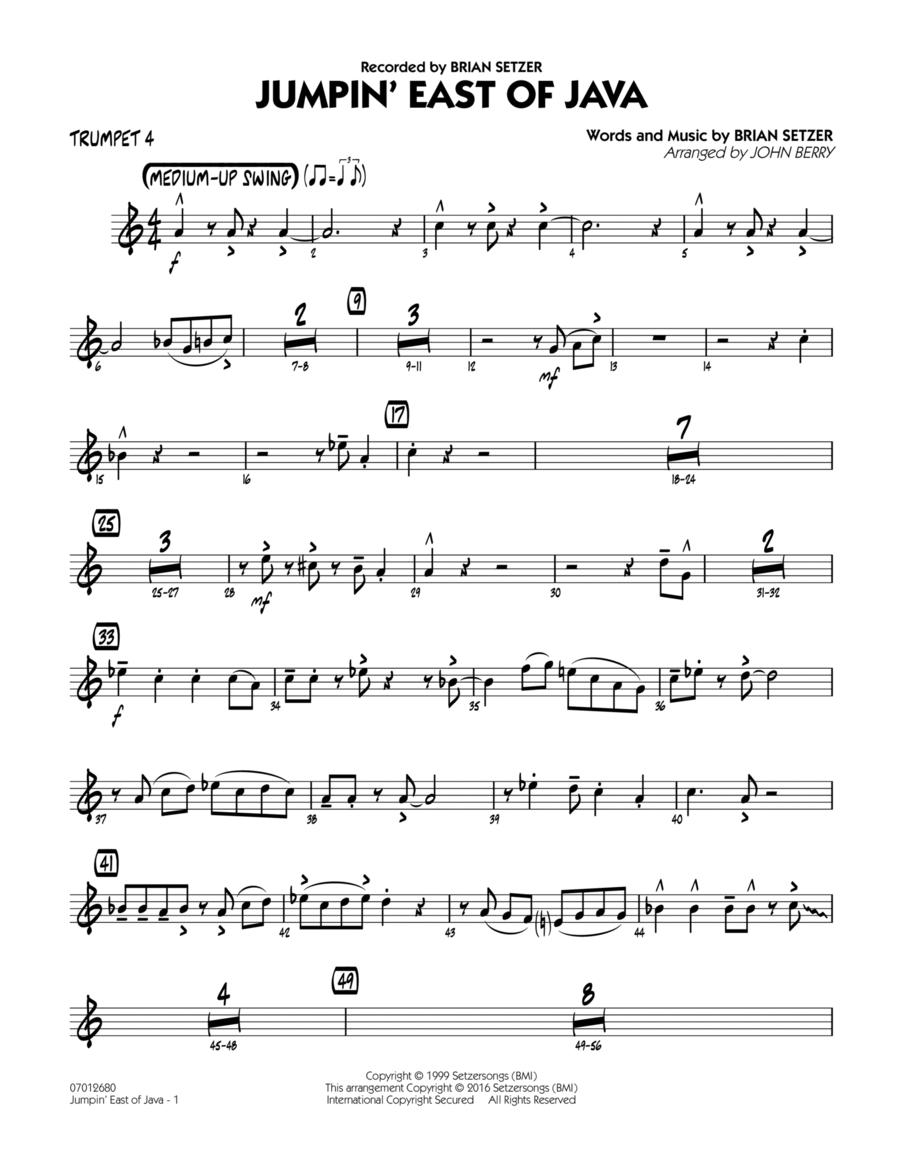 Jumpin' East of Java - Trumpet 4