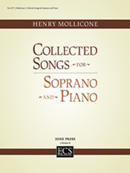 Collected Songs for Soprano and Piano