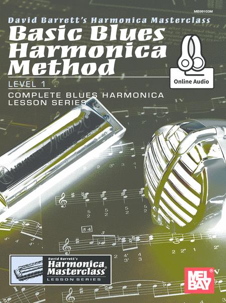 Basic Blues Harmonica Method Level 1