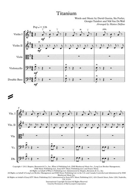 Titanium (String Orchestra)