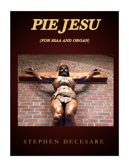 Pie Jesu (for SSAA and Organ)