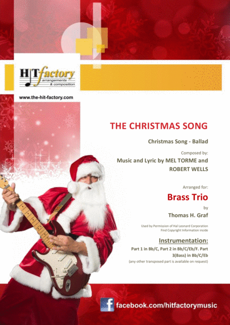 The Christmas Song - (Chestnuts Roasting On An Open Fire) - Brass Trio