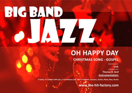 Oh happy day - Christmas Song - Gospel - Big Band