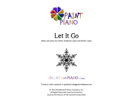 how to play frozen let it go on piano easy
