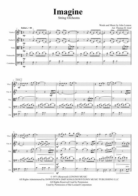 Imagine - John Lennon's Classic  - String Orchestra