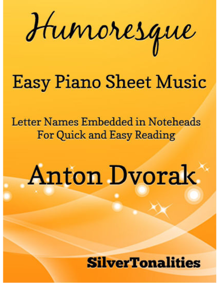 Humoresque Easy Piano Sheet Music