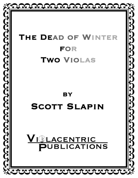 The Dead of Winter for Two Violas