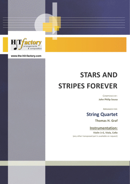 Stars and Stripes forever - Sousa - String Quartet