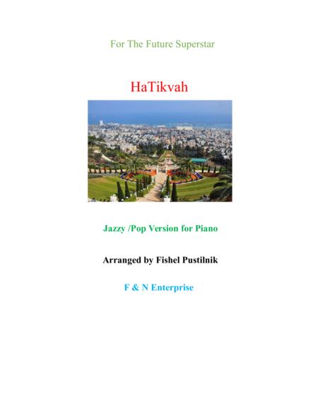 HaTikvah-Jazzy/Pop Version