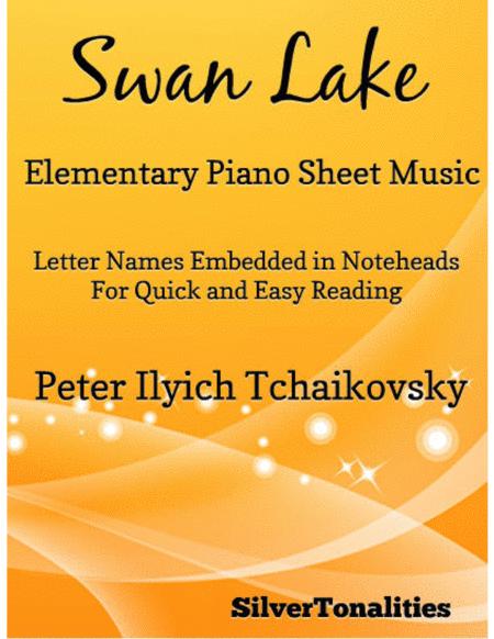 Swan Lake Elementary Piano Sheet Music