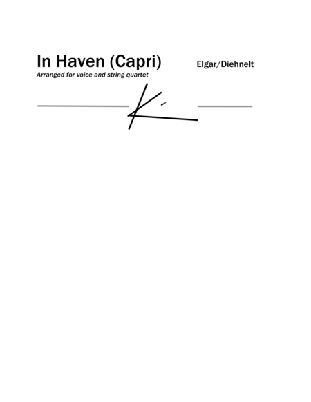 Elgar: In Haven (Capri) from Sea Pictures