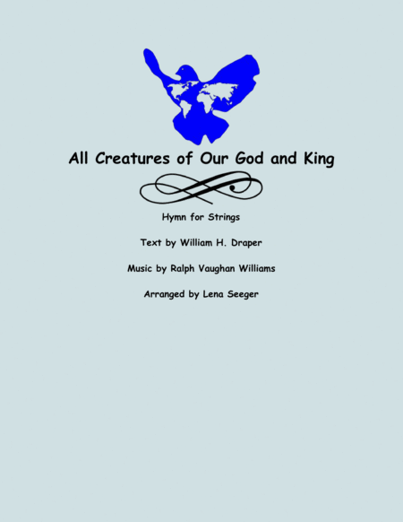 All Creatures of Our God and King (string trio)