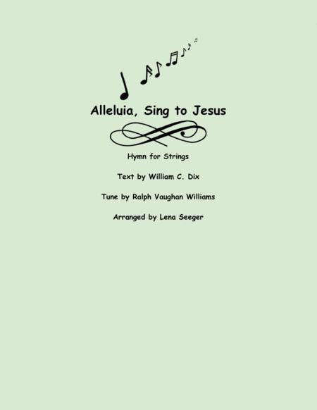 Alleluia Sing to Jesus (string trio)
