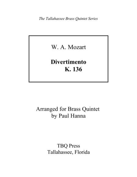 Divertimento, K. 136