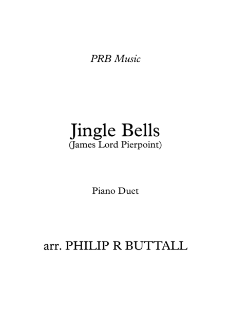 Jingle Bells (Piano Duet - Four Hands)
