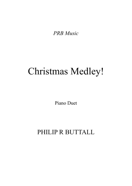 Christmas Medley (Piano Duet - Four Hands)