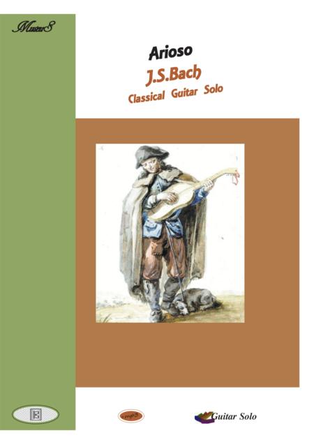 Arioso BWV 156 classical guitar solo