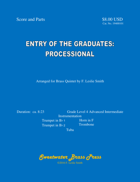 Entry of the Graduates: Processional