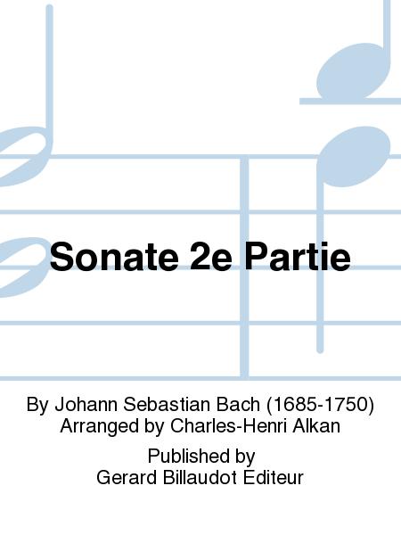 Sonate 2e Partie