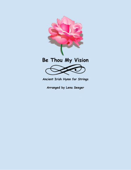 Be Thou My Vision (string trio)
