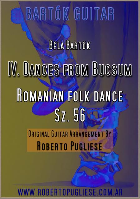 IV. Bucsumí tánc / Buciumeana (Dance from Bucsum) - Béla Bartók for Guitar.