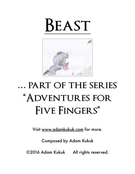 Beast - Piano Solo