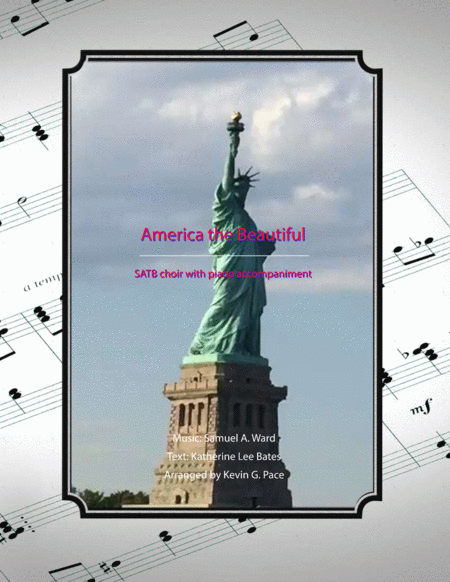 America the Beautiful - SATB Choir with piano accompaniment
