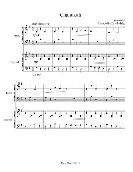 Chanukah Piano Duet