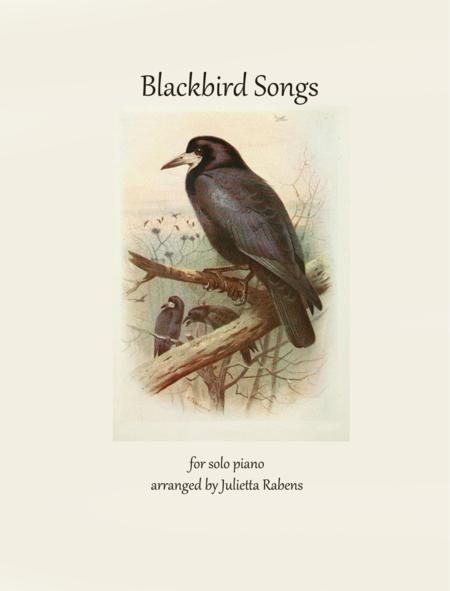 Blackbird Songs for piano