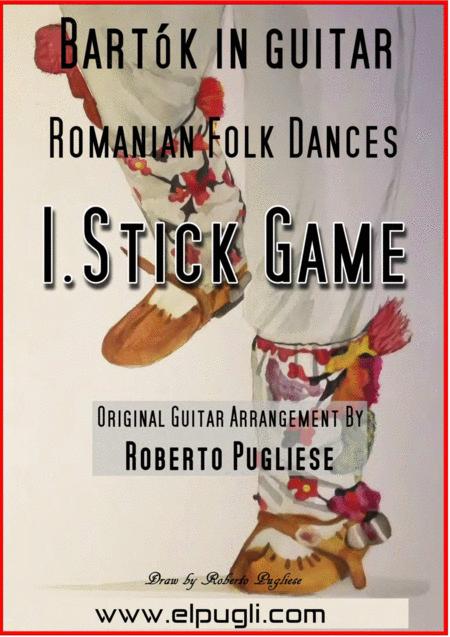 Romanian Folk Dances, Sz. 56. FOR CLASSIC GUITAR