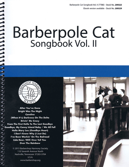 Barberpole Cat Songbook
