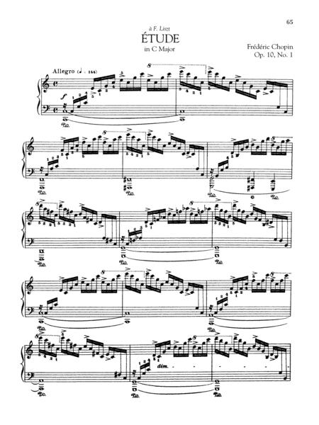 Etude in C Major, Op. 10, No. 1