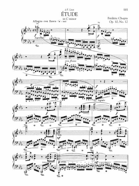 Etude in C Minor, Op. 10, No. 12