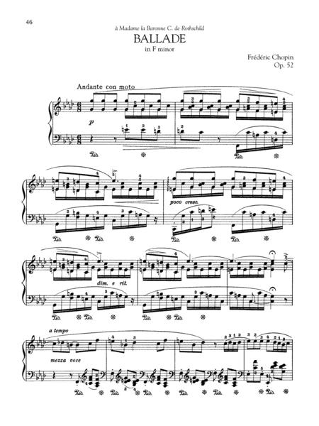 Ballade in F minor, Op. 52