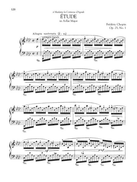 Etude in A-flat Major, Op. 25, No. 1