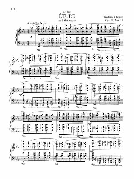 Etude in E-flat Major, Op. 10, No. 11