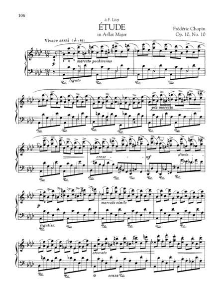 Etude in A-flat Major, Op. 10, No. 10