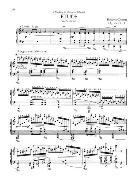 Etude in A minor, Op. 25, No. 11
