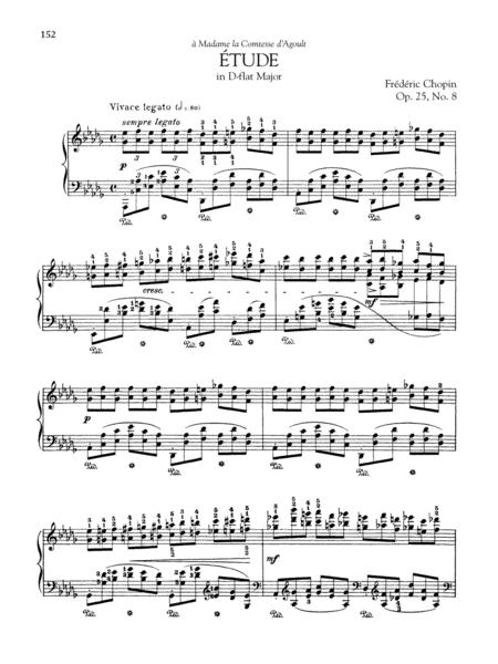 Etude in D-flat Major, Op. 25, No. 8