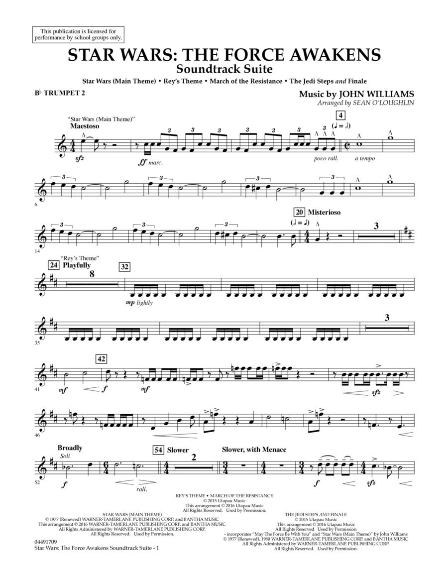Star Wars: The Force Awakens Soundtrack Suite - Bb Trumpet 2