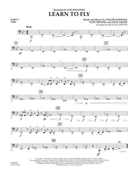 Learn to Fly - Pt.5 - Tuba