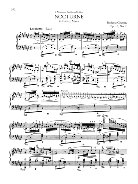 Nocturne in F-sharp Major, Op. 15, No. 2