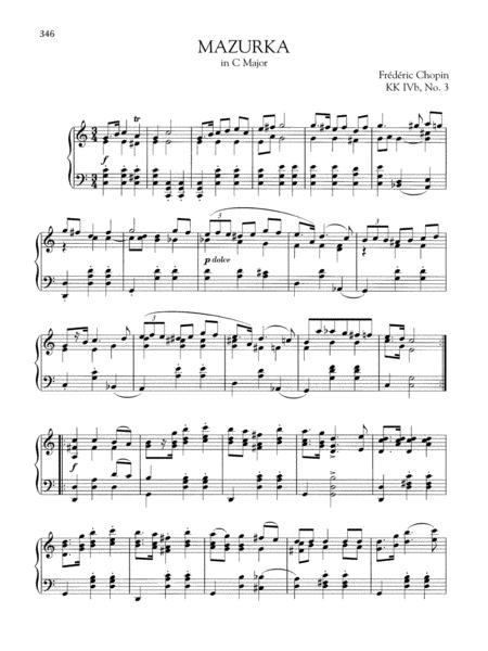 Mazurka in C Major, KK. IVb, No. 3
